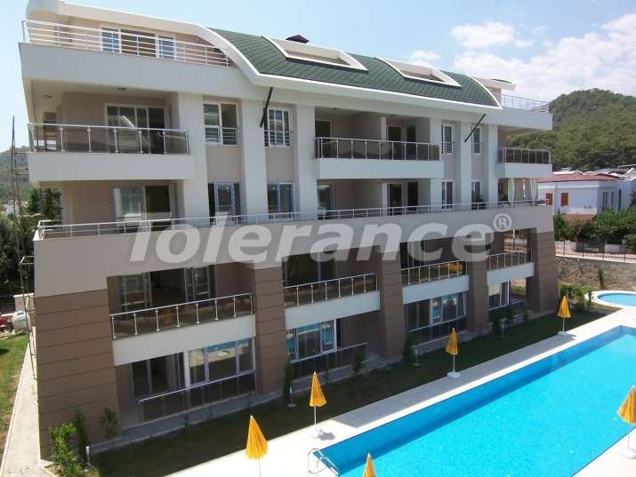 One-bedroom apartment in the center of Kemer, 700 meters from the sea with a full set of furniture and household appliances - 5538   Tolerance Homes