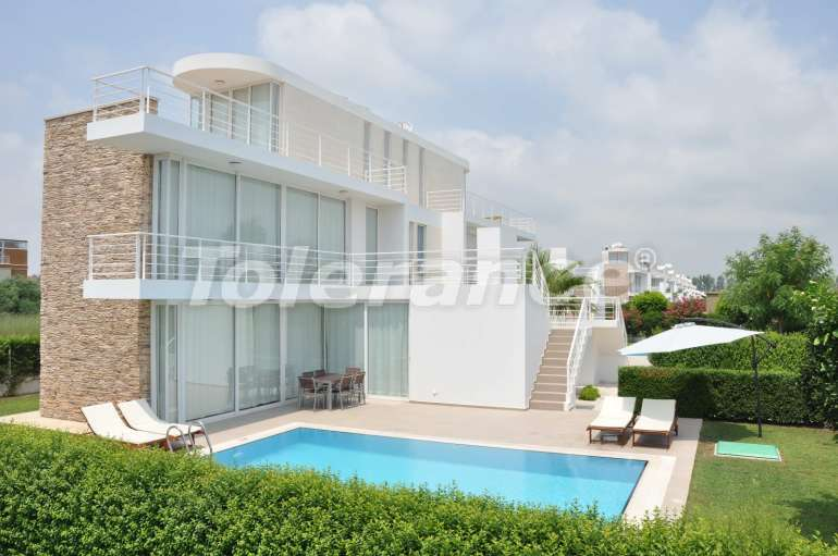 Villas with 4 bedroom in Belek, Antalya with the private pool - 5806   Tolerance Homes