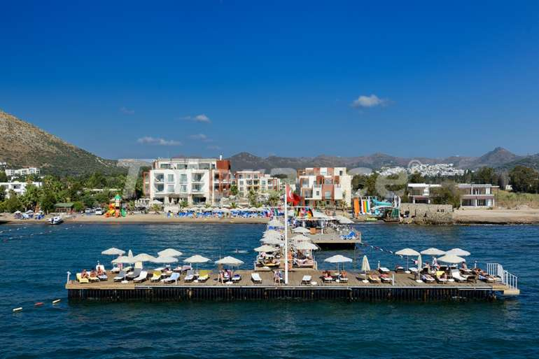 Elite apartment complex in Bodrum hotel type on the first coastline - 6057 | Tolerance Homes