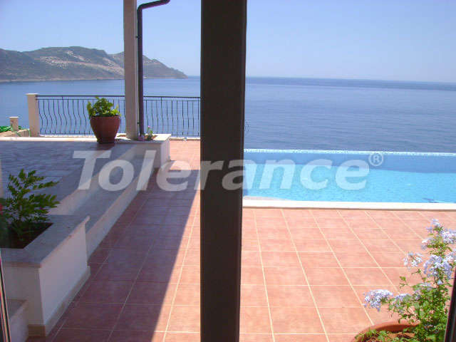 Villa with 3 bedrooms in Kas on the beachfront overlooking