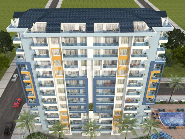 Apartments in Mahmutlar, Alanya, just 450 meters from the sea - 6478 | Tolerance Homes