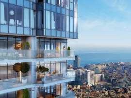 Luxury apartments in modern complex in Sisli, Istanbul with installment up to 4 years with view to Bosphorus - 18480 | Tolerance Homes