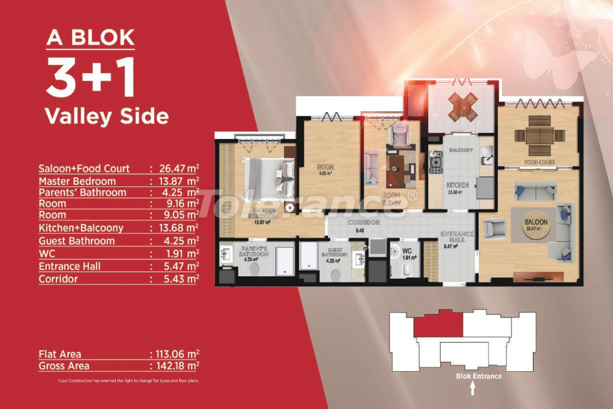 Spacious apartments in Basaksehir, Istanbul in modern complex with a developed infrastructure - 21499 | Tolerance Homes