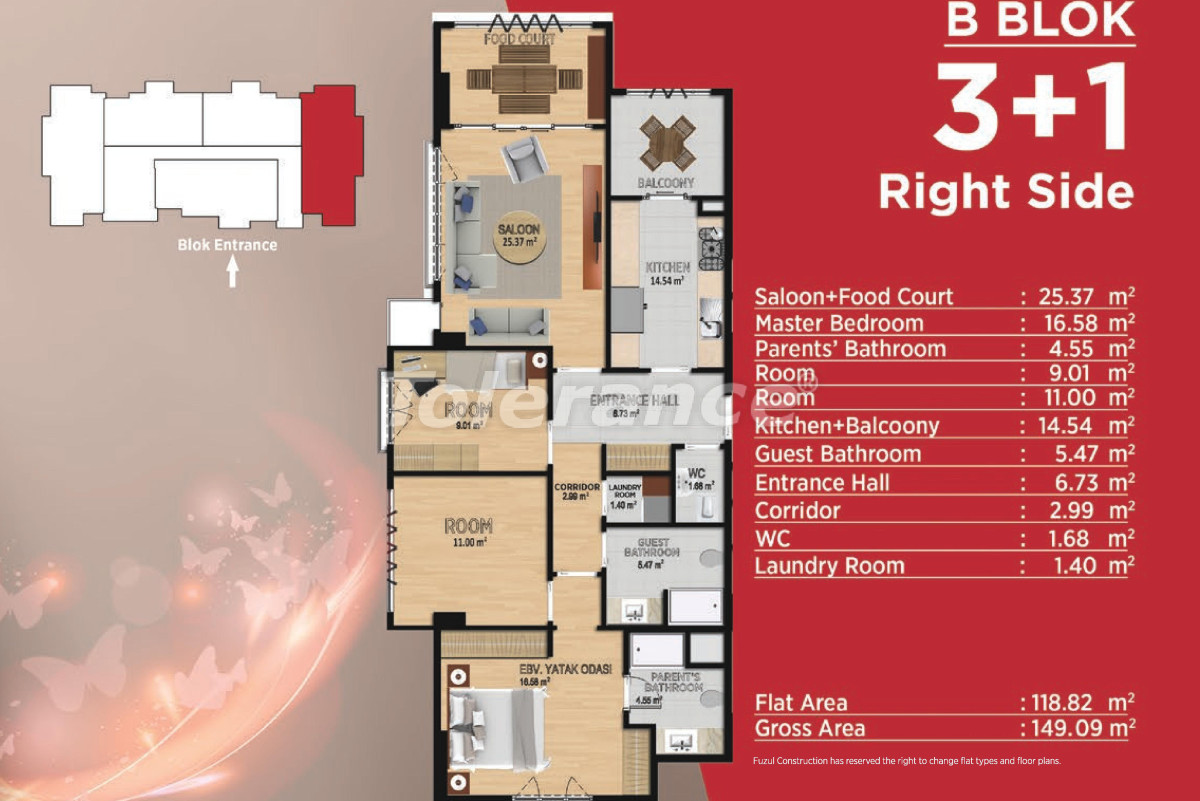 Spacious apartments in Basaksehir, Istanbul in modern complex with a developed infrastructure - 21501 | Tolerance Homes