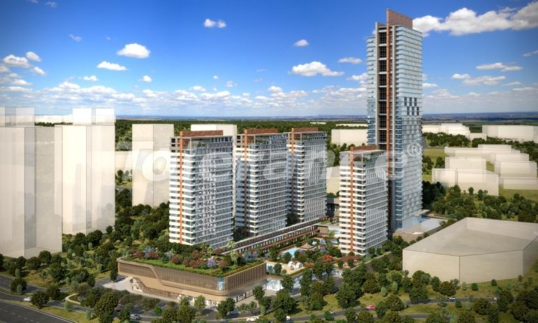 Luxury apartments in Istanbul in modern complex with developed infrastructure with installment - 21152 | Tolerance Homes