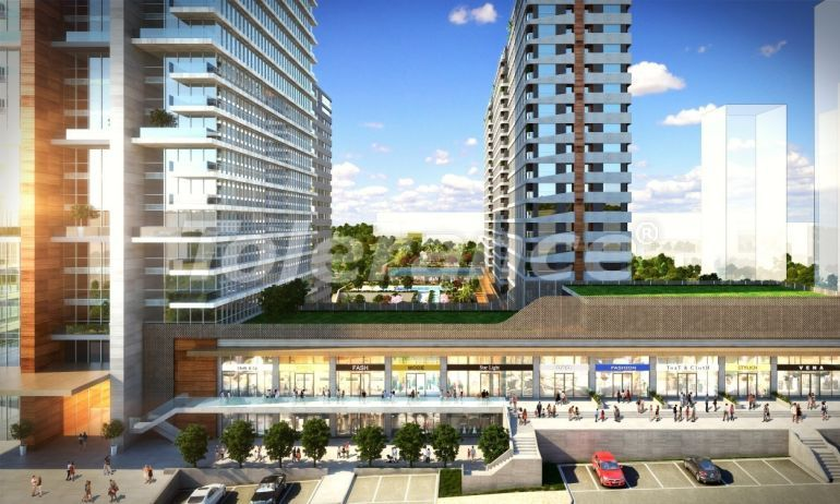 Luxury apartments in Istanbul in modern complex with developed infrastructure with installment - 21167 | Tolerance Homes