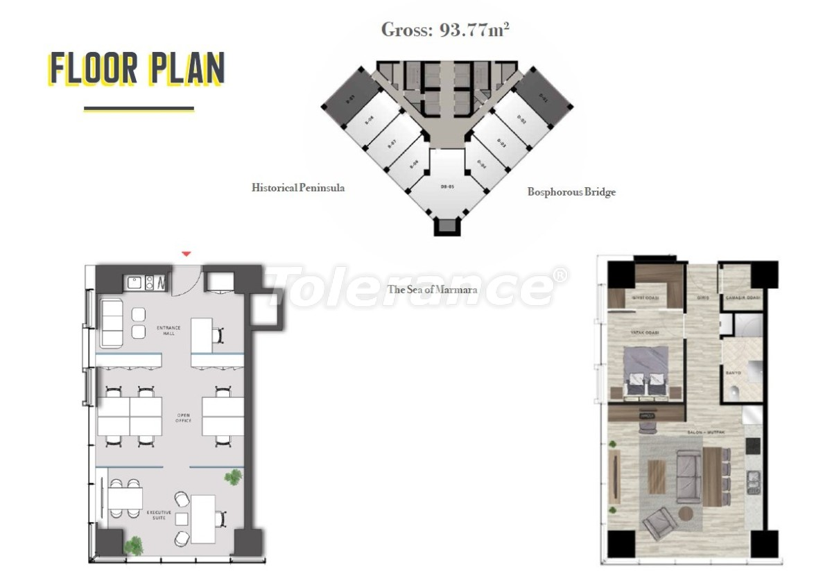 Spacious apartment in Sisli, Istanbul in a modern complex with a rental guarantee for 3 years - 24697 | Tolerance Homes