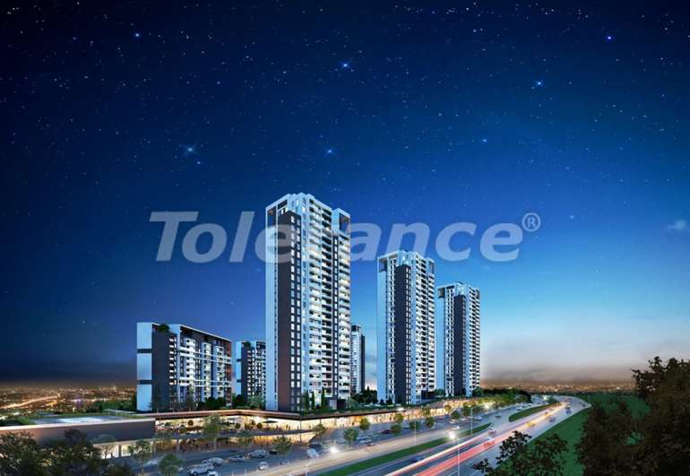 Spacious apartments in Istanbul, profitable for investments, in complex near the lake - 7434 | Tolerance Homes