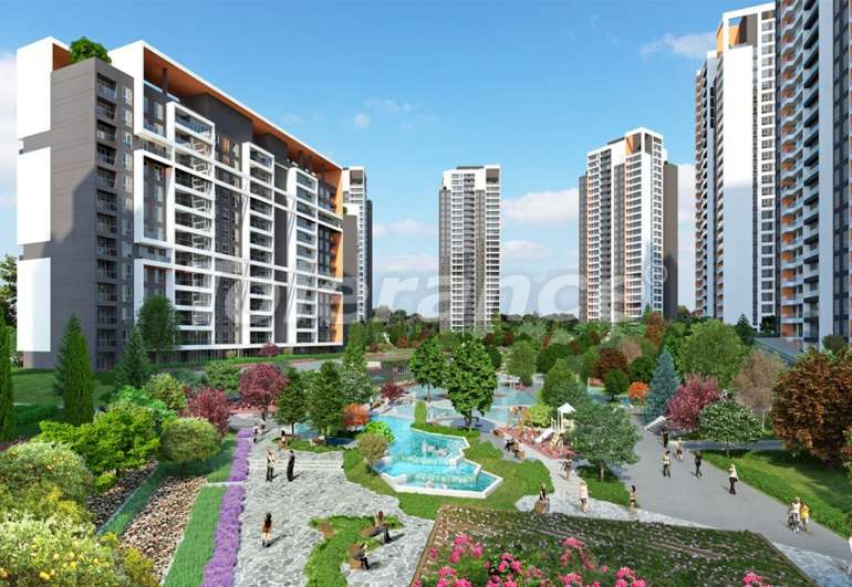 Spacious apartments in Istanbul, profitable for investments, in complex near the lake - 7442 | Tolerance Homes