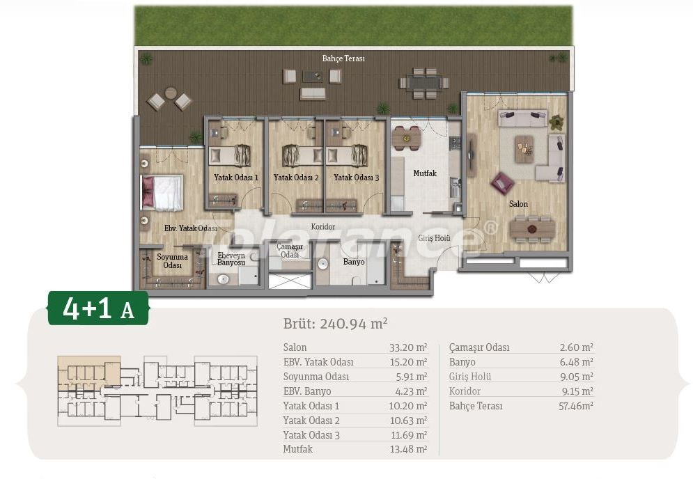 Spacious apartments in Istanbul, profitable for investments, in complex near the lake - 21655 | Tolerance Homes