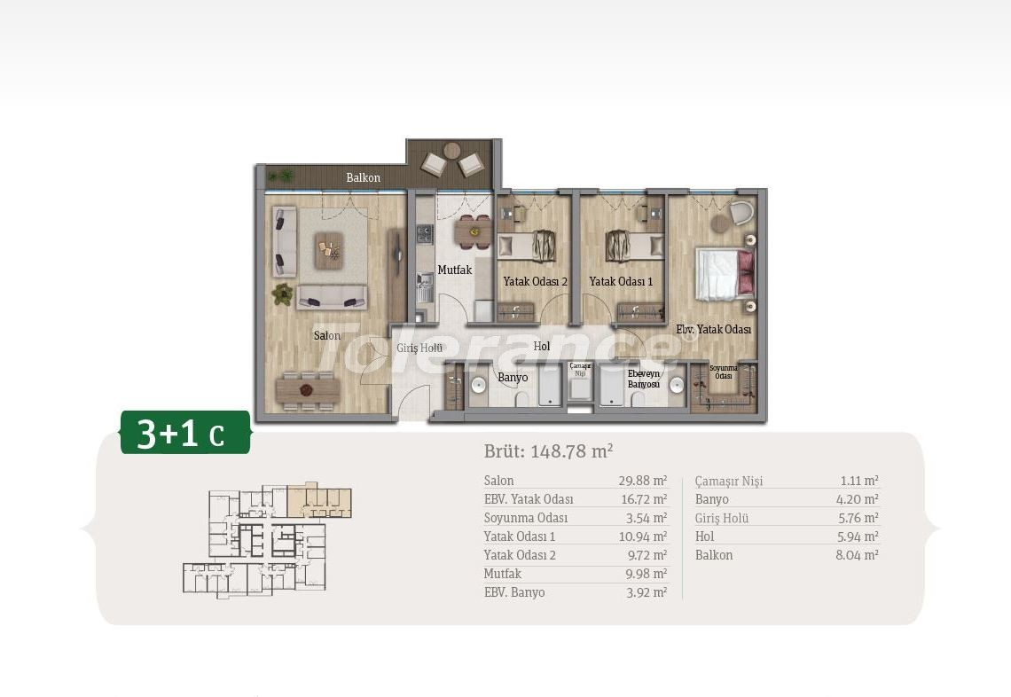 Spacious apartments in Istanbul, profitable for investments, in complex near the lake - 21658 | Tolerance Homes