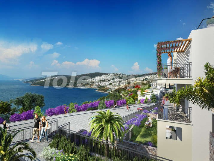 Apartments in Bodrum near the sea - 7470 | Tolerance Homes