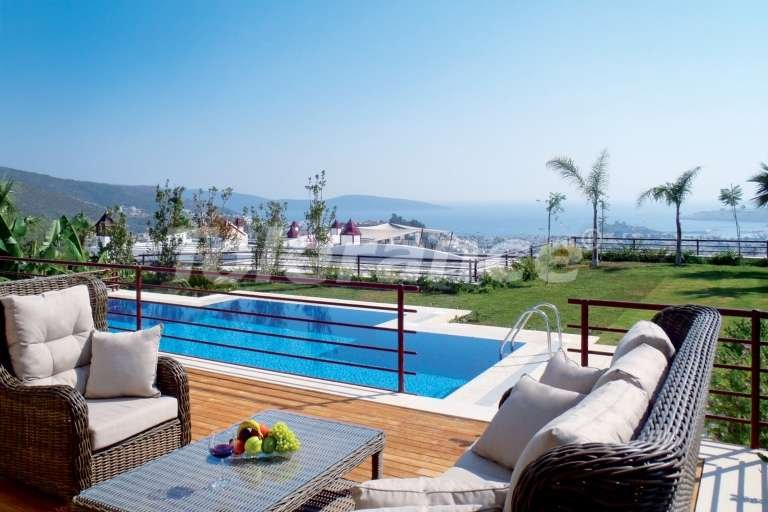 Villas in the center of Bodrum with private beach - 7608 | Tolerance Homes