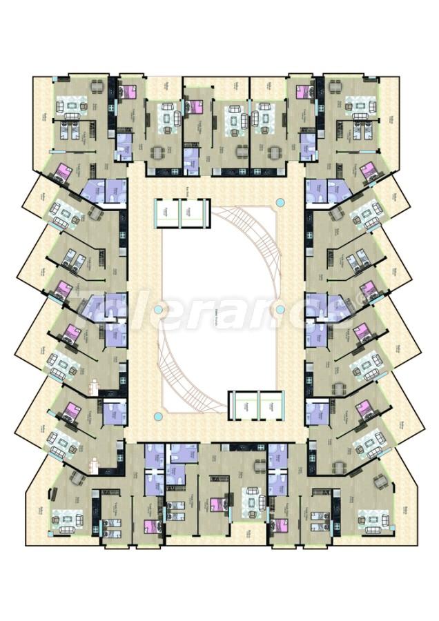 Apartments in Mahmutlar in a complex near the sea - 7767 | Tolerance Homes